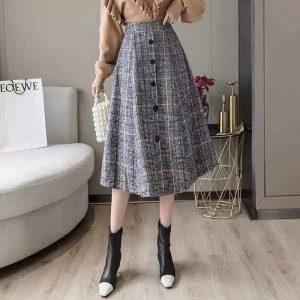 Woolen Skirt WS22