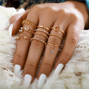 Golden Ring Set
