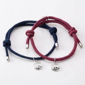 Magnetic Couple Bracelet